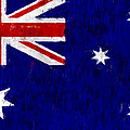 Australia Flag by World Art Prints And Designs