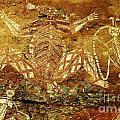 Australia Ancient Aboriginal Art 1 by Bob Christopher