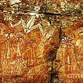 Australia Ancient Aboriginal Art 2 by Bob Christopher