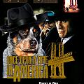 Australian Cattle Dog Art Canvas Print - Once Upon A Time In America Movie Poster by Sandra Sij
