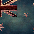 Australian Flag I by April Moen