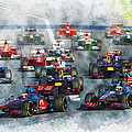 Australian Grand Prix F1 2012 by Don Kuing