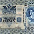 Austria Banknote, 1902 by Granger
