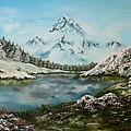 Austrian Lake by Jean Walker