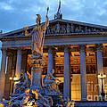Austrian Parliament Building by Mariola Bitner