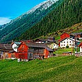Austrian Village by Steve Harrington