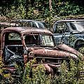 Auto Junk Yard by Sharon Meyer