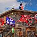 Auto Repair At The City Garage by David and Carol Kelly