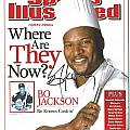 Autographed Sports Illustrated Cover By Bo Jackson Bo Knows Cookin' by Desiderata Gallery