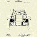 Automobile 1920 Patent Art by Prior Art Design