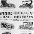 Automobile Ad, 1905 by Granger