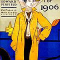 Automobile Calendar Advertisement 1906 by Padre Art