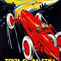 Automobile Club Catania by Vintage Automobile Ads and Posters