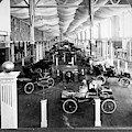 Automobile Display, 1904 by Granger