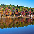 Autum Reflection by Steve Wilkes