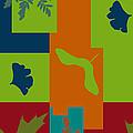 Autumn Abstract A La Matisse by Jo-Anne Gazo-McKim