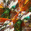 Autumn Abstract by Margie Chapman