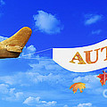 Autumn Advertising Banner by Amanda Elwell