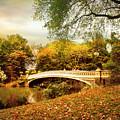 Autumn Arrives At Bow Bridge by Jessica Jenney