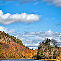 Autumn At Bald Mountain Pond by David Patterson