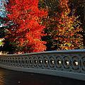 Autumn At Bow Bridge by James Kirkikis