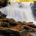 Autumn At Cattyman Falls by Larry Ricker