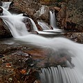 Autumn At Glen Ellis Falls by Jetson Nguyen