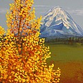 Autumn At Mt Shasta by Wanda Pepin