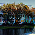 Autumn At Old Key West Resort Panorama Walt Disney World by Thomas Woolworth