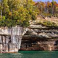 Autumn At Pictured Rocks by Cindy Lindow