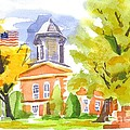 Autumn At The Courthouse by Kip DeVore