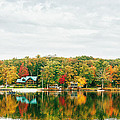 Autumn At The Lake - Pocono Mountains by Vivienne Gucwa