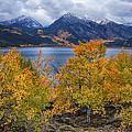 Autumn At Twin Lakes by Morris  McClung