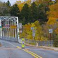 Autumn At Washington's Crossing Bridge by Bill Cannon