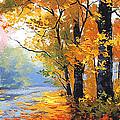 Autumn Backlight by Graham Gercken