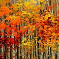 Autumn Banners by Tatiana Iliina