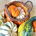 Autumn Basketful by Mary Deal