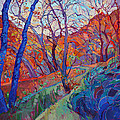 Autumn Blues by Erin Hanson