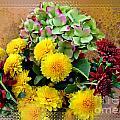 Autumn Boquet I by Debbie Portwood
