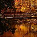 Autumn Bridge by Raymond Salani III