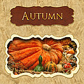 Autumn Button by Mike Savad