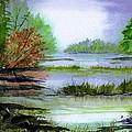 Autumn By The Lake  by Brenda Owen