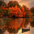 Autumn Canoe by Robin-Lee Vieira