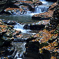 Autumn Cascade by Frozen in Time Fine Art Photography