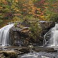 Autumn Cascades by Debra and Dave Vanderlaan
