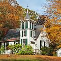 Autumn Church by Bill Wakeley