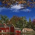 Autumn Church Row by Dominic Davison