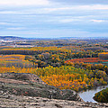 Autumn Colors On The Ebro River by RicardMN Photography