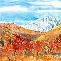 Autumn Colors by Walt Brodis