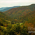 Autumn Comes To Appalachia  by Howard Tenke